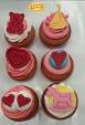 Cupcakes για βάφτιση