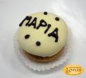Macaron (μακαρόν) λευκή σοκολάτα
