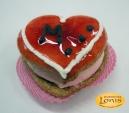 Macaron (μακαρόν) καρδιά για βάφτιση