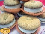 Macaron (μακαρόν) πικραμύγδαλο