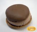 Macaron (μακαρόν) σοκολάτα... πάνω-κάτω