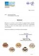 Βεβαίωση - Macaron (μακαρόν) χωρίς γλουτένη