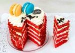 Rainbow Cake - Red Velvet