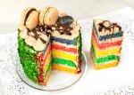 Rainbow Cake - Σοκολάτα