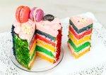 Rainbow Cake - Φράουλα