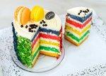 Rainbow Cake - Βανίλια