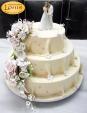 Τριώροφη Τούρτα Γάμου